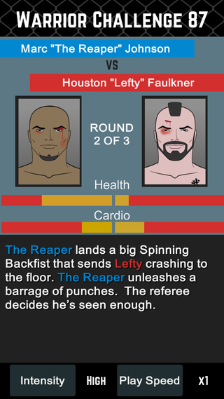 MMA Manager Screenshot 1
